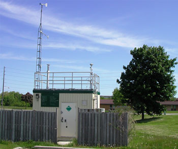 Newmarket Air Monitoring Station