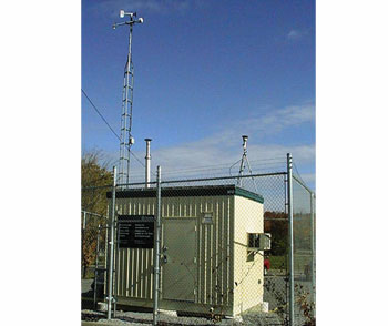 Peterborough Air Monitoring Station