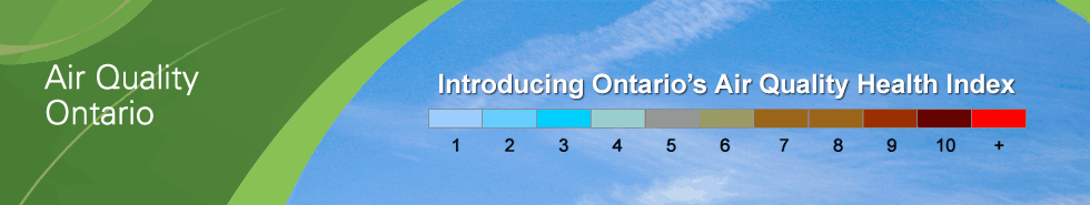 Introducing Ontario's Air Quality Health Index